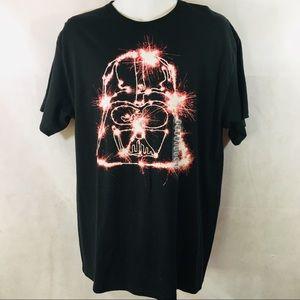 Star Wars Darth Vader Graphic T-Shirt Large New